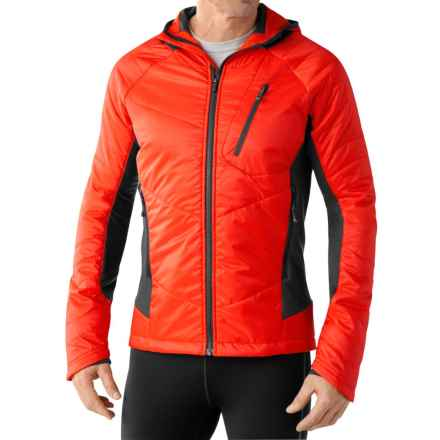 SmartWool PhD Propulsion 60 Hoodie - Merino Wool, Insulated (For Men) in Bright Orange - Closeouts