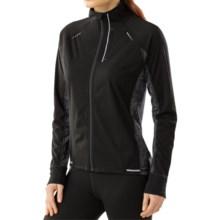 SmartWool PhD Run Divide Jacket - Merino Wool (For Women) in Black/Black - Closeouts