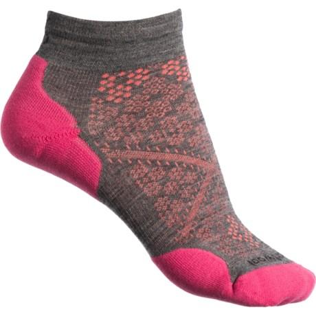 e483b4206dec8 SmartWool PhD Run Elite Low-Cut Ankle Socks - Merino Wool, Ankle (For