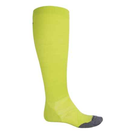 SmartWool PhD Run Graduated Compression Ultralight Socks - Over the Calf (For Men and Women) in Smartwool Green - 2nds