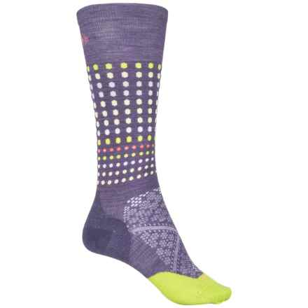 SmartWool PhD Run Knee-High Socks - Merino Wool, Over the Calf (For Women) in Desert Purple - Closeouts