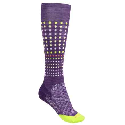 SmartWool PhD Run Knee-High Socks - Merino Wool, Over the Calf (For Women) in Desert Purple - 2nds