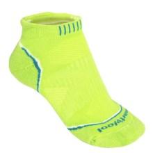 SmartWool PhD Run Light Micro Socks - Merino Wool Blend, Below-the-Ankle (For Women) in Smartwool Green - 2nds