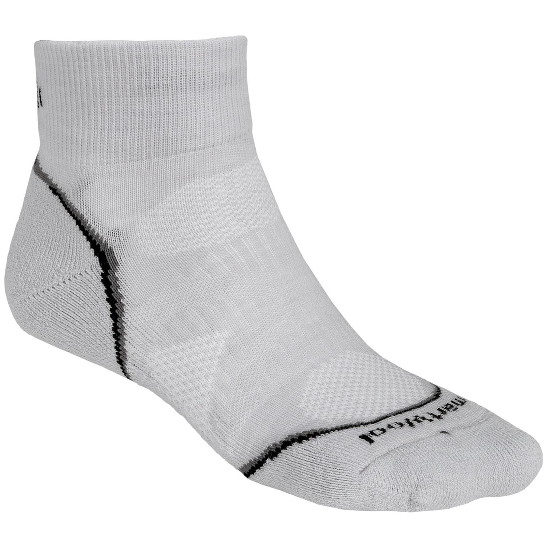 Smartwool Phd Run Light Mini Socks Merino Wool Ankle