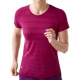 SmartWool PhD Run Shirt - Merino Wool, Short Sleeve (For Women)
