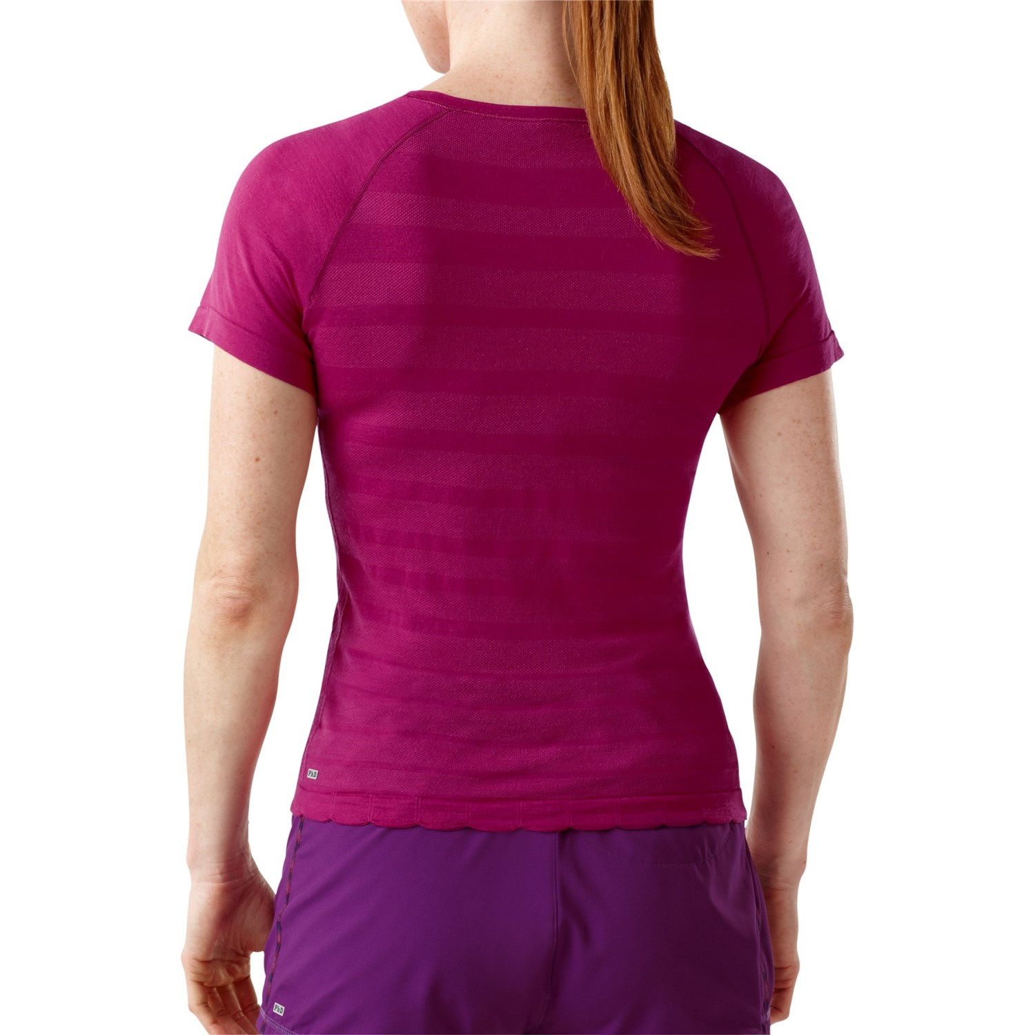 Smartwool phd run shirt for women 6330v for Merino wool shirt womens