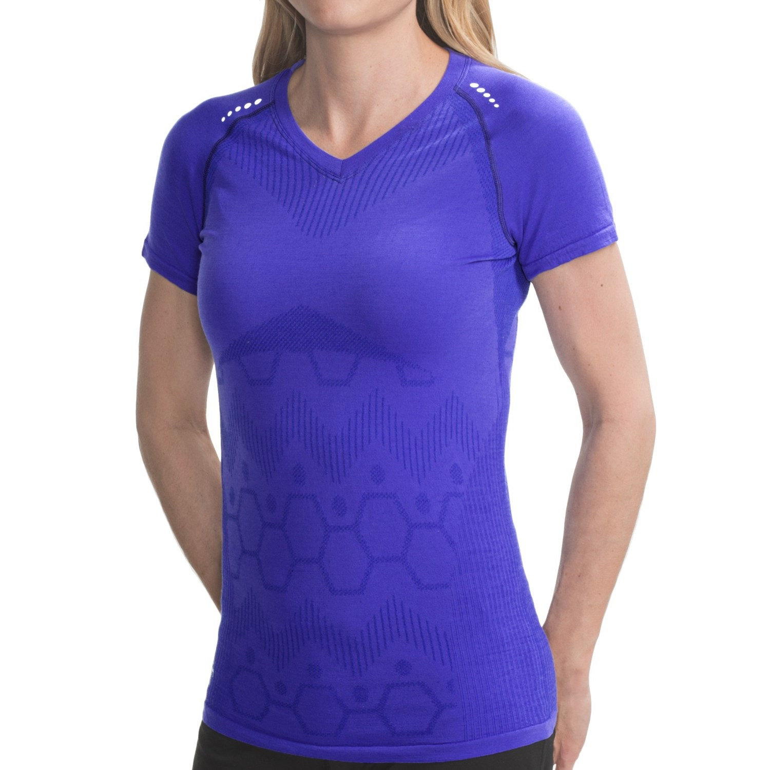 Smartwool phd run shirt for women for Merino wool shirt womens