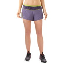 SmartWool PhD Run Shorts - Merino Wool, Built-In Brief (For Women) in Desert Purple - Closeouts