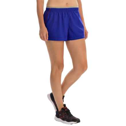 SmartWool PhD Run Shorts - Merino Wool, Built-In Brief (For Women) in Liberty - Closeouts