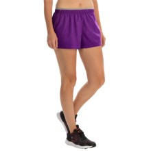 SmartWool PhD Run Shorts - Merino Wool, Built-In Brief (For Women) in Purple Dahlia - Closeouts