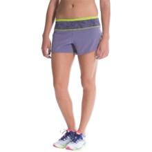 SmartWool PhD Run Shorts - Merino Wool, Built-In Briefs (For Women) in Desert Purple - Closeouts