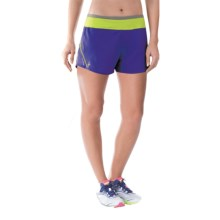 SmartWool PhD Run Shorts - Merino Wool, Built-In Briefs (For Women) in Liberty - Closeouts