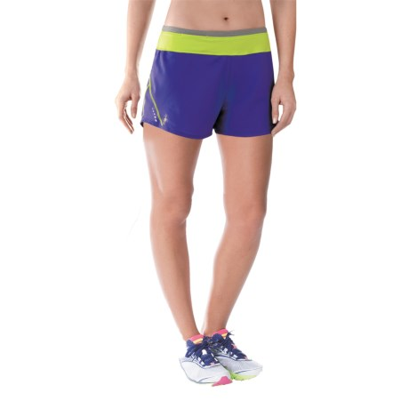SmartWool PhD Run Shorts Merino Wool, Built In Briefs (For Women)