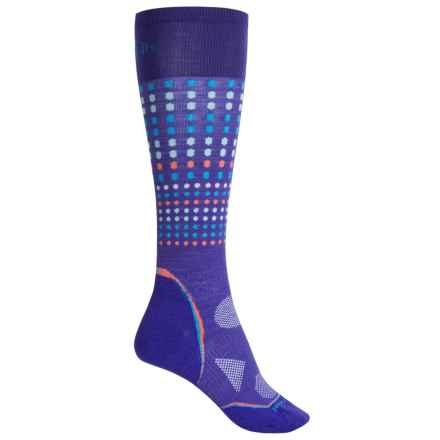 SmartWool PhD Run Ultralight Knee-High Socks - Merino Wool, Over the Calf (For Women) in Liberty - 2nds