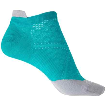SmartWool PhD Run Ultralight Micro Socks - Merino Wool, Ankle (For Women) in Capri - Closeouts