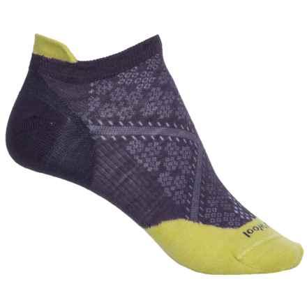 SmartWool PhD Run Ultralight Micro Socks - Merino Wool, Ankle (For Women) in Desert Purple - Closeouts