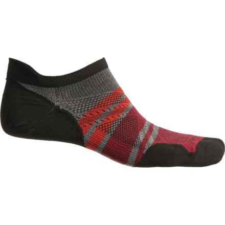 0e1f03075c1db SmartWool PhD Run Ultralight Micro Socks - Merino Wool, Below the Ankle  (For Men
