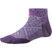 SmartWool PhD Run Ultralight Socks - Merino Wool, Below-the-Ankle (For Women) in Desert Purple - Closeouts