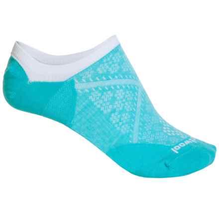 SmartWool PhD Run Ultralight Socks - Merino Wool, Below the Ankle (For Women) in Light Capri - 2nds