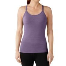 SmartWool PhD Seamless Long Bra - Merino Wool, Racerback (For Women) in Desert Purple - Closeouts