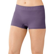 SmartWool PhD Seamless Panties - Merino Wool, Boy Shorts (For Women) in Desert Purple - Closeouts