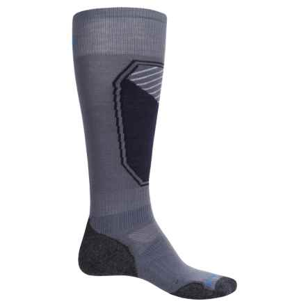 SmartWool PhD Ski Light Pattern Socks - Merino Wool, Over the Calf (For Men and Women) in Graphite - Closeouts
