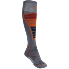 SmartWool PhD Ski Light Socks - Merino Wool (For Men and Women) in Graphite - 2nds