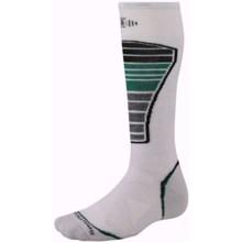 SmartWool PhD Ski Light Socks - Merino Wool (For Men and Women) in Silver - 2nds