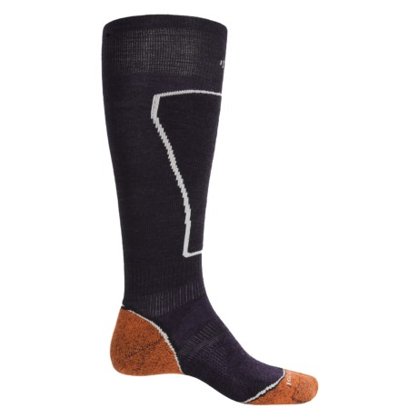 SmartWool PhD Ski Light Socks - Merino Wool, Over the Calf (For Men) in Navy
