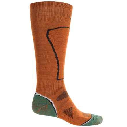 SmartWool PhD Ski Light Socks - Merino Wool, Over the Calf (For Men) in Orange - Closeouts