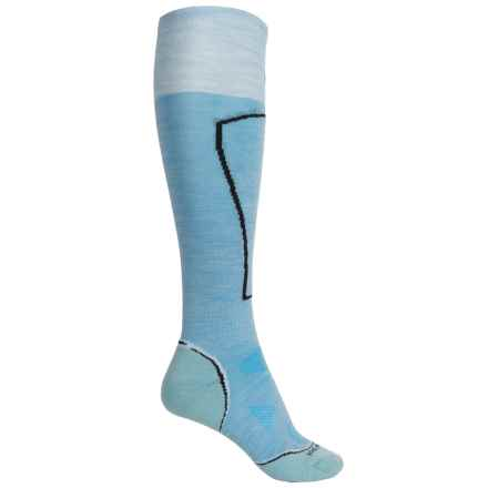 SmartWool PhD Ski Light Socks - Over the Calf (For Women) in Sky - Closeouts