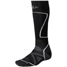 SmartWool PhD Ski Socks - Merino Wool (For Men and Women) in Black - 2nds