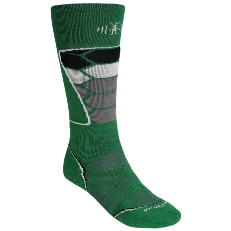 SmartWool PhD Ski Socks - Merino Wool (For Men and Women) in Grasshopper