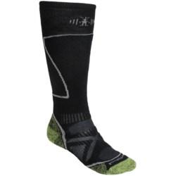 SmartWool PhD Ski Socks - Merino Wool (For Men and Women) in Pesto