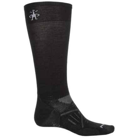 SmartWool PhD Ski Socks - Merino Wool, Over the Calf (For Men) in Black - 2nds
