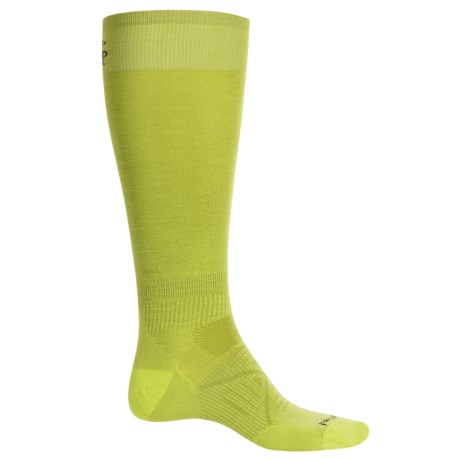 SmartWool PhD Ski Ultralight Socks - Merino Wool, Over the Calf (For Men) in Smartwool Green