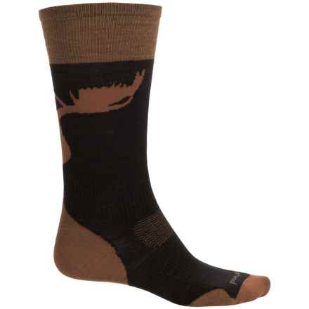 SmartWool PhD Slopestyle La Grave Ski Socks - Merino Wool, Over the Calf (For Men and Women) in Black - Closeouts