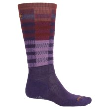 SmartWool PhD Slopestyle Light Ifrane Socks - Merino Wool, Over the Calf (Men) in Mountain Purple - 2nds