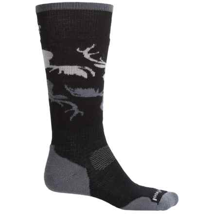 SmartWool PhD Slopestyle Revelstoke Socks - Merino Wool, Over the Calf (For Women) in Black - Closeouts