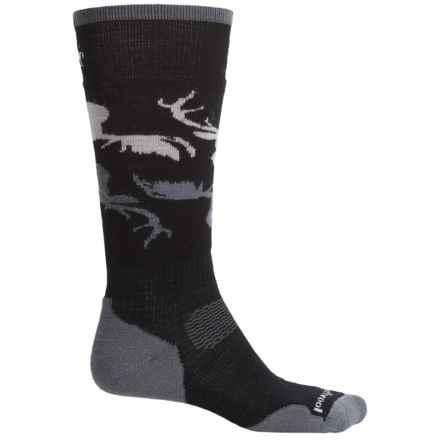 SmartWool PhD Slopestyle Revelstoke Socks - Merino Wool, Over the Calf (For Women) in Black - Closeouts