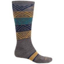 SmartWool PhD Slopestyle Switch Alley-Oop Socks - Merino Wool, Over the Calf (For Men and Women) in Taupe - Closeouts