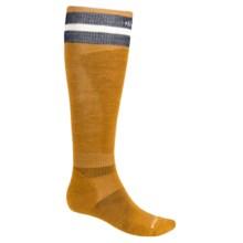 SmartWool PhD Slopestyle Tube Socks - Merino Wool (For Men and Women) in Harvest Gold - 2nds