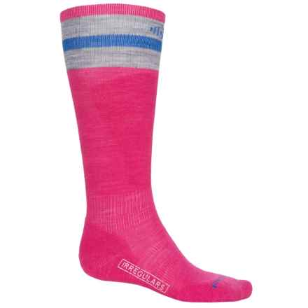 SmartWool PhD Slopestyle Tube Socks - Merino Wool, Over the Calf (For Men and Women) in Bright Pink - 2nds