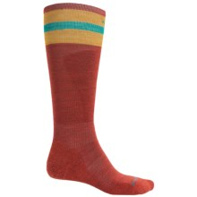 SmartWool PhD Slopestyle Tube Socks - Merino Wool, Over the Calf (For Men and Women) in Moab Rust - 2nds