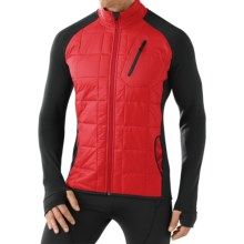 SmartWool PhD Smartloft Divide Jacket - Merino Wool, Insulated (For Men) in Bright Red - Closeouts