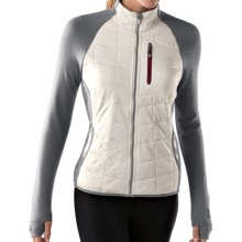 SmartWool PhD SmartLoft Divide Midlayer Jacket (For Women) in Natural - Closeouts