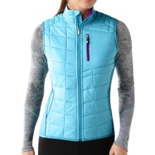 SmartWool PhD SmartLoft Divide Vest - Insulated (For Women) in Horizon Blue - Closeouts