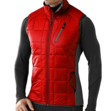 SmartWool PhD SmartLoft Divide Vest - Merino Wool, Insulated (For Men) in Bright Red - Closeouts