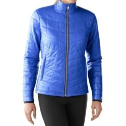 SmartWool PhD Smartloft Full-Zip Jacket - Merino Wool (For Women) in Arctic Blue