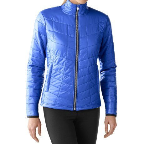 SmartWool PhD Smartloft Full-Zip Jacket - Merino Wool (For Women) in Arctic Blue